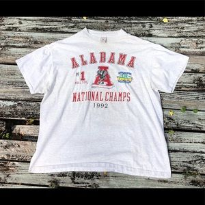 Vintage 1992 National Champs Tee XL
